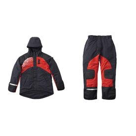 ロゴス LOGOS メンズ レインウェア LIPNERプロモデル 防水防寒スーツ(ブラック/3Lサイズ) 30370710