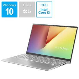 ASUS エイスース VivoBook 15 ノートパソコン トランスペアレントシルバー X512FA-8145 [15.6型 /intel Core i3 /SSD:128GB /メモリ:4GB /2019年4月モデル][15.6インチ 新品 windows10 X512FA8145]