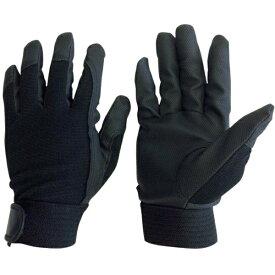 AMAG ユニワールド WORKS HOMME 合成皮革手袋 ブラック L 2510-BK-L