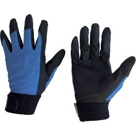 AMAG ユニワールド WORKS HOMME 合成皮革手袋 ブルー L 2510-BL-L