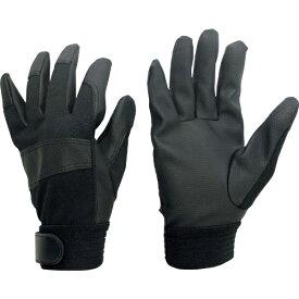 ミドリ安全 MIDORI ANZEN ミドリ安全 合成皮革手袋 厚手タイプ PUウイングローブK LLサイズ 1双 PU-WINGLOVE-K-LL