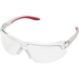 ミドリ安全 MIDORI ANZEN ミドリ安全 二眼型 保護メガネ MP−822 レッド MP-822-RD