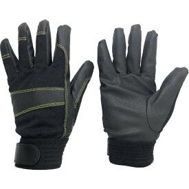 ミドリ安全 MIDORI ANZEN ミドリ安全 合成皮革手袋 PUウイングローブ防寒 Sサイズ PU-WINGLOVE-BOUKAN-S