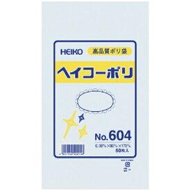 シモジマ SHIMOJIMA HEIKO ポリ規格袋 ヘイコーポリ No.604 紐なし 006619400