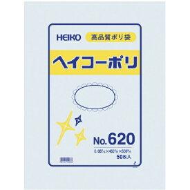 シモジマ SHIMOJIMA HEIKO ポリ規格袋 ヘイコーポリ No.620 紐なし 006621000