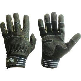 富士手袋工業 富士手袋 合皮手袋 ブレリスストロングキャッチ グリーン迷彩 L 028-GR-L