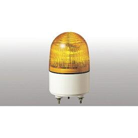 パトライト PATLITE パトライト 小型LED表示灯 色:黄 PES-100A-Y