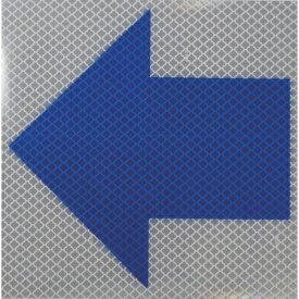 日東エルマテリアル Nitto L Materials 日東エルマテ 反射ステッカー プリズムタイプ ホワイト 150X150 青矢印P1W P1W150150