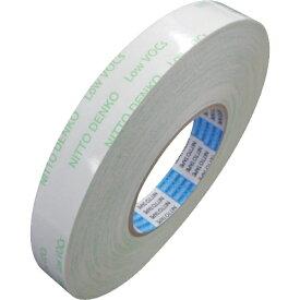 日東 Nitto 日東 低VOC両面テープ(局面接着性良好タイプ) NO.516 20mmX20M 516-20