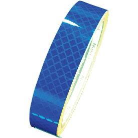 日東エルマテリアル Nitto L Materials 日東エルマテ 高輝度プリズム反射テープ15mmX5M ブルー HTP-15B