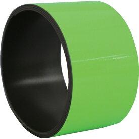 日東エルマテリアル Nitto L Materials 日東エルマテ 蛍光マグネットシート 50mmX1M グリーン KMG-50G