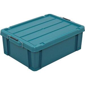 アイリスオーヤマ IRIS OHYAMA IRIS 252004 バックルコンテナ BL−43 ブルーグリーン BL-43-BG