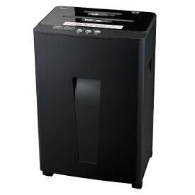 ナカバヤシ Nakabayashi NSE-404BK 電動シュレッダー ブラック [マイクロカット /A4サイズ /CDカット対応][NSE404BK]