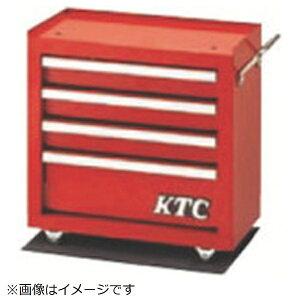 京都機械工具 KYOTO TOOL KTC ミニローラーキャビネット(4段4引出し) SKX0514