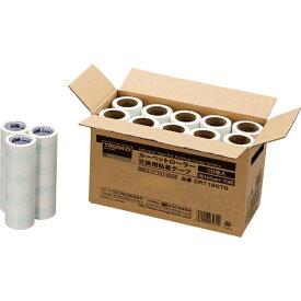 トラスコ中山 TRUSCO カーペットローラー交換用粘着テープ (10巻入) 160mm幅X70周 CRT16070