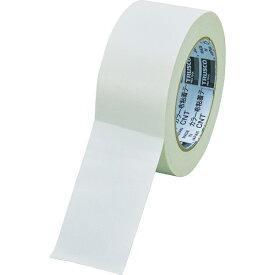 トラスコ中山 TRUSCO カラー布粘着テープ 幅50mm長さ25m ホワイト CNT-5025-W