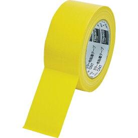 トラスコ中山 TRUSCO カラー布粘着テープ 幅50mm長さ25m イエロー CNT-5025-Y