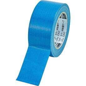 トラスコ中山 TRUSCO カラー布粘着テープ 幅50mm長さ25m ブルー CNT-5025-B
