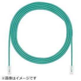 パンドウイット PANDUIT パンドウイット カテゴリ5E細径パッチコード 8m 緑 UTP28CH8MGR UTP28CH8MGR