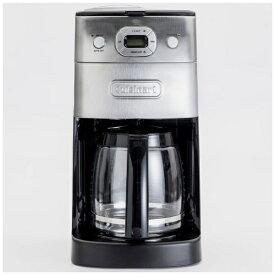クイジナート Cuisinart 10カップ ミル付全自動コーヒーメーカー 豆・粉両対応、予約プログラム付 DGB-625J [全自動 /ミル付き][DGB625J]