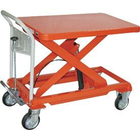 トラスコ中山 TRUSCO ハンドリフター 500kg 600X900 オレンジ HLFA-E500 【メーカー直送・代金引換不可・時間指定・返品不可】