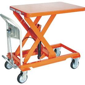 トラスコ中山 TRUSCO ハンドリフター 500kg 600X900 オレンジ HLFA-S500 【メーカー直送・代金引換不可・時間指定・返品不可】