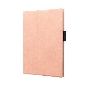 MSソリューションズ 10.2インチ iPad(第7世代)用 薄型PUレザーフラップケース PRIME LP-ITM19PRIPK ピンク