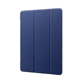 MSソリューションズ 10.2インチ iPad(第7世代)用 背面クリアフラップケース Clear Note LP-ITM19CNTNV ネイビー