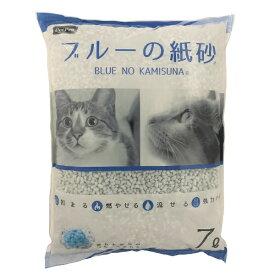 ペットプロジャパン PetPro ペットプロ ブルーの紙砂 7L
