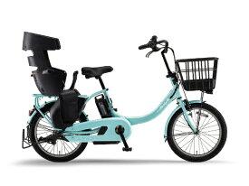 ヤマハ YAMAHA 20型 電動アシスト自転車 PAS Babby un SP リヤチャイルドシート標準装備モデル(ミントブルー/内装3段変速) 20PA20BSPR【2020年モデル】【組立商品につき返品不可】 【代金引換配送不可】