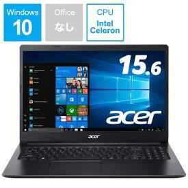 ACER エイサー A315-34-F14U/K ノートパソコン Aspire 3 チャコールブラック [15.6型 /intel Celeron /SSD:256GB /メモリ:4GB /2019年11月モデル][15.6インチ 新品 windows10 A31534F14UK]