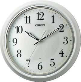 シチズン CITIZEN 掛け時計 ホワイト 8MY560-003 [電波自動受信機能有]
