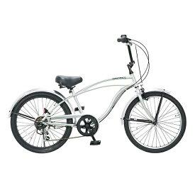 FEELINGOFDECKS 22型 子供用自転車 FEELING of DECKS FOD 22 6D(シルバーxポリッシュリム/外装6段変速)【組立商品につき返品不可】 【代金引換配送不可】