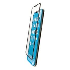 エレコム ELECOM iPhone 11 全面ガラスフィルム 3次強化 セラミックコート BLカット ブラック PMCA19CFLGTCBLB