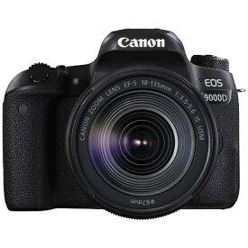 キヤノン CANON EOS 9000D デジタル一眼レフカメラ EF-S18-135 IS USM レンズキット [ズームレンズ][EOS9000D18135ISUSMLK]