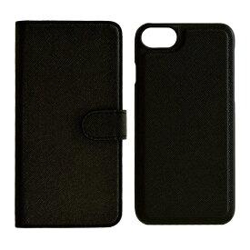 ラスタバナナ RastaBanana iPhone SE(第2世代)4.7インチ/ iPhone8/7/6s/6共用 2WAY手帳型ケース 5215IP747BO ブラック