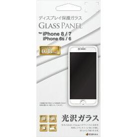 ラスタバナナ RastaBanana iPhone8/7/6s/6共用 パネル 0.33mm GP2042IP747 ガラス光沢