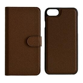 ラスタバナナ RastaBanana iPhone SE(第2世代)4.7インチ/ iPhone8/7/6s/6共用 2WAY手帳型ケース 5217IP747BO ブラウン