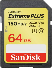 サンディスク SanDisk SDXCカード Extreme PLUS(エクストリーム プラス) SDSDXW6-064G-JBJCP [64GB /Class10][SDSDXW6064GJBJCP]【point_rb】