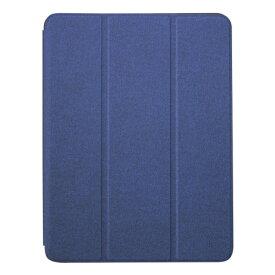 OWLTECH オウルテック 10.2インチ iPad(第7世代)用 ペンホルダー付きケース OWL-CVIB10201-NV ネイビー