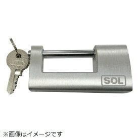 清水 SHIMIZU SOL No.5700 アルミ倉庫錠 80mm 5700-80K/D