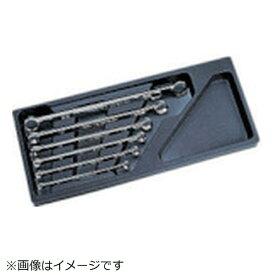 京都機械工具 KYOTO TOOL ネプロス ストレートスタンダードヘックスめがねレンチセット[6本組] NTM106H