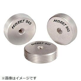 HAZET社 ハゼット HAZET ネジ山修正ロールダイス 843−1用 843-110S3