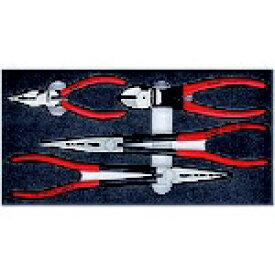 KNIPEX社 クニペックス KNIPEX 002001V16 プライヤーセット ウレタントレイ入り 002001V16