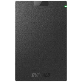 BUFFALO バッファロー HD-PGAC1U3-BA 外付けHDD ブラック [ポータブル型 /1TB][HDPGAC1U3BA]