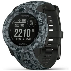 GARMIN ガーミン 010-02064-C2 INSTINCT Tactical Camo Graphite[01002064C2]【point_rb】