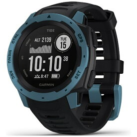 GARMIN ガーミン 010-02064-B2 INSTINCT Tide Black/Blue[01002064B2]