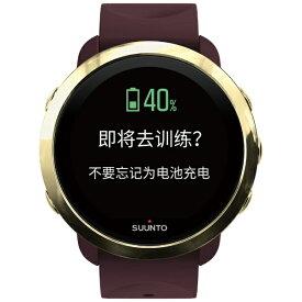 スント SUUNTO SS050211000 SUUNTO 3 G1 ZH BURGUNDY スント3 SS050211000 国流通限定 中国語対応モデル(日本正規品) バーガンディー [タイムモードで最大10日間][SS050211000]