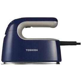 東芝 TOSHIBA TAS-V5BK-L 衣類スチーマー インディゴブルー [ハンガーショット機能付き][ハンディアイロン][TASV5BKL]【point_rb】