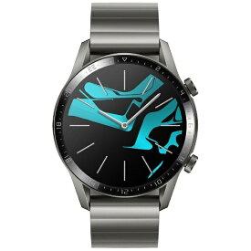 【2019年12月13日発売】 HUAWEI ファーウェイ WATCHGT246MMGR スマートウォッチ Watch GT2 46mm Titanium Gray